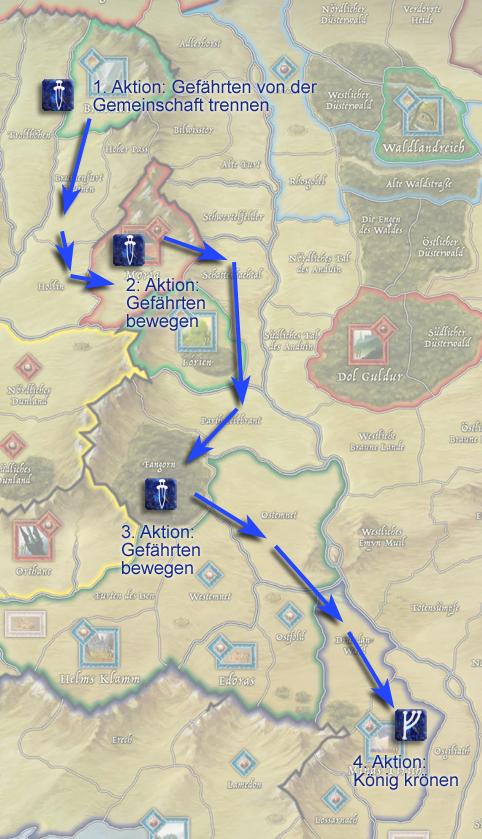 Mittelerde Karte Komplett.Ring Und Runenkriege