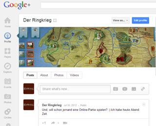 Der Ringkrieg auf Google Plus