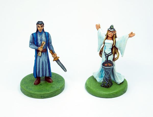 Elrond und Galadriel
