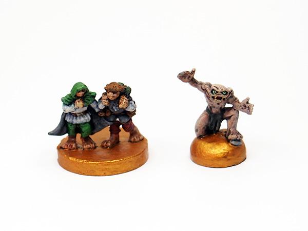 Ringträger und Gollum