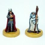 Aragorn und Gandalf der Weiße