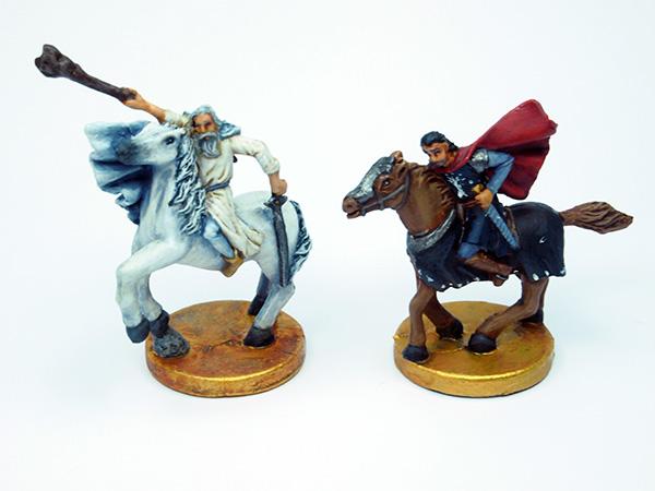 Gandalf der Weiße und Aragorn