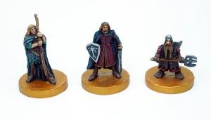 Legolas, Boromir, Gimli