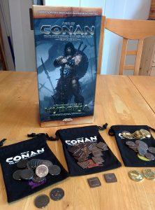 Kickstarter: Die Box, Münzen und Beutel