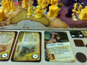 Die liebliche Prinzessin Yasmina schmachtet immer noch nach Conan .