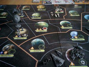 Spielbeginn: Die Galaxis scheint fest in der Hand des Imperiums.